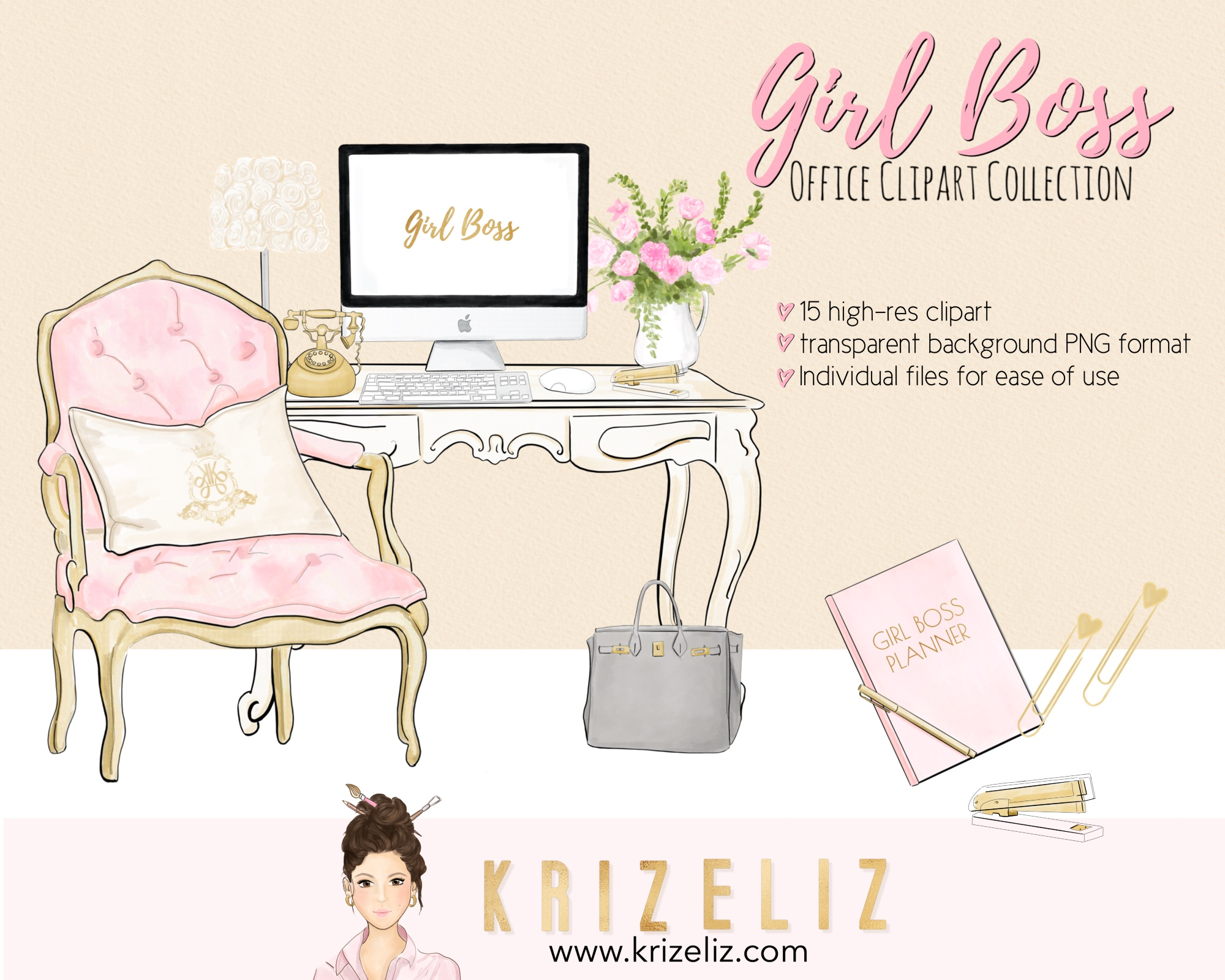 Free Girl Boss Clipart Graphics