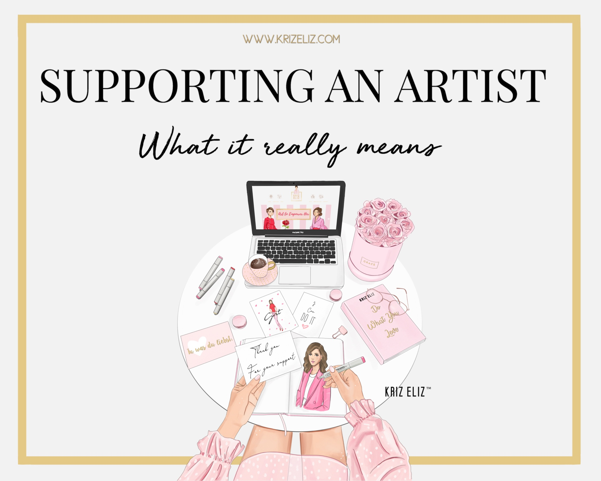 Supporting an Artist